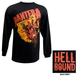 PANTERA Devils Hand, ロングTシャツ