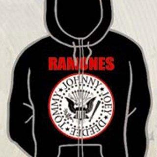 RAMONES Classic Logo, Zip-Upパーカー