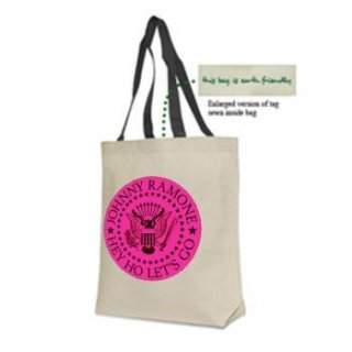 RAMONES Pink Seal V2 Canvas, トートバッグ