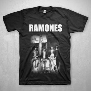 RAMONES Cbgb Group Photo, Tシャツ