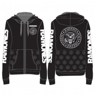 RAMONES Seal Custom, Zip-Upパーカー