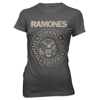 RAMONES Seal, レディースTシャツ