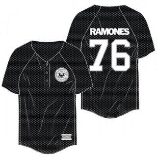 RAMONES Name Logo, ベースボールジャージ(レディース)