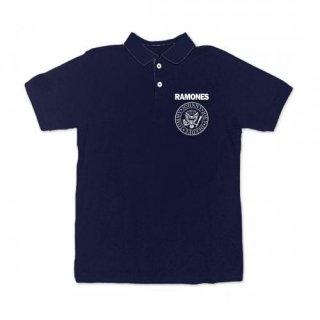 RAMONES Name Logo, ポロシャツ