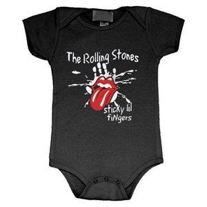 THE ROLLING STONES Sticky Little Fingers Romper, ベビー服