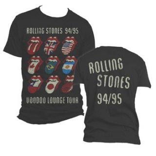 THE ROLLING STONES Voodoo Tongues Vintage, Tシャツ