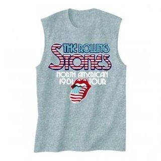 THE ROLLING STONES 81 Tour, ノースリーブTシャツ(メンズ)