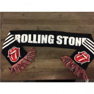 THE ROLLING STONES Name Logo, スカーフ