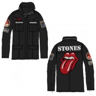 THE ROLLING STONES Rs Tongue, アーミージャケット