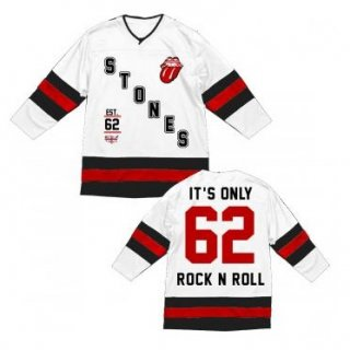 THE ROLLING STONES Stacked Logo, ホッケージャージ