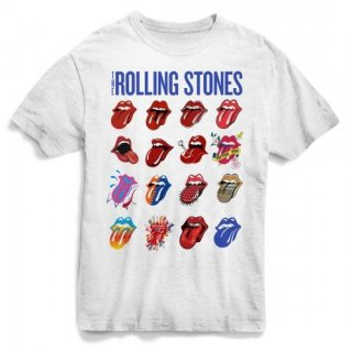THE ROLLING STONES Evolution Blue And Lonesome White, Tシャツ