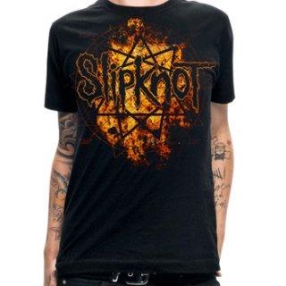 SLIPKNOT Radio Fires Logo, Tシャツ