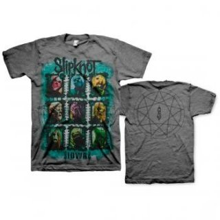 SLIPKNOT Colors Grid, Tシャツ