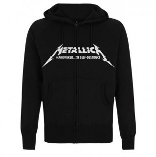 METALLICA Hardwired Album Cover, Zip-Upパーカー