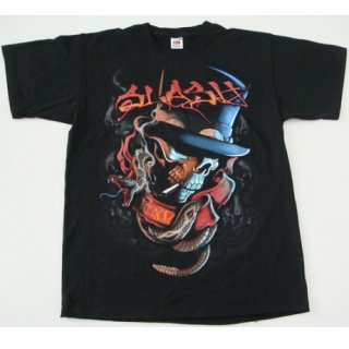 SLASH Smoker Blk, Tシャツ