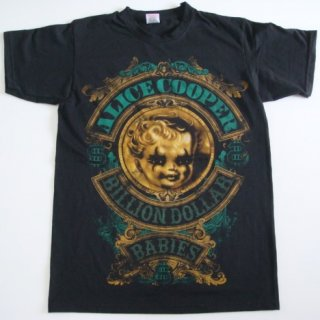 ALICE COOPER Billion Dollar Crest, Tシャツ