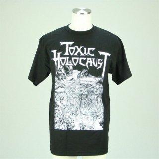 TOXIC HOLOCAUST Nuke The Cross, Tシャツ