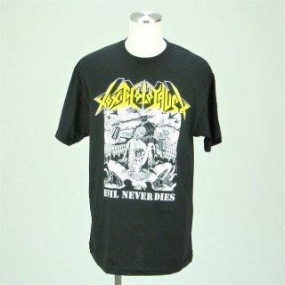 TOXIC HOLOCAUST Evil Never Dies, Tシャツ
