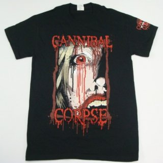 CANNIBAL CORPSE Face/Usa, Tシャツ