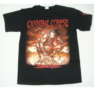 CANNIBAL CORPSE Bloodthirst Censored Cover, Tシャツ