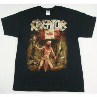KREATOR Canada Flag 2014, Tシャツ