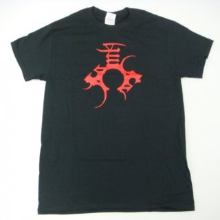 ENSLAVED Red Logo Back, Tシャツ
