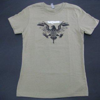 CARCASS Eagle Seal Olive, レディースTシャツ