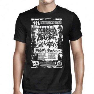 MORBID ANGEL Tour Admat-tour Dates, Tシャツ