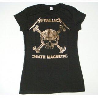 METALLICA Mosaic Skulls, レディースTシャツ