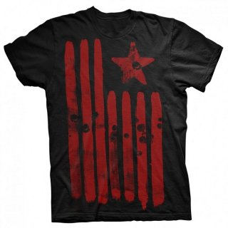 RAGE AGAINST THE MACHINE Star & Stripes Large, Tシャツ