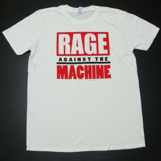 RAGE AGAINST THE MACHINE 60's Election White, Tシャツ