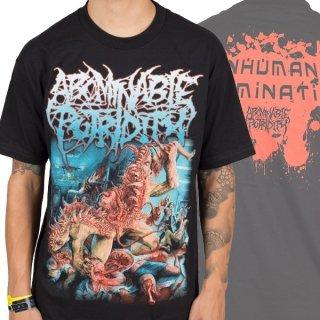 ABOMINABLE PUTRIDITY Inhuman Abomination, Tシャツ
