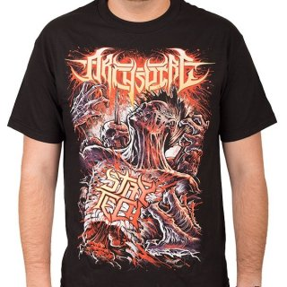 ARCHSPIRE Stay Tech Zombie, Tシャツ