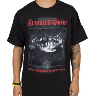ARMORED SAINT Win Hands Down, Tシャツ