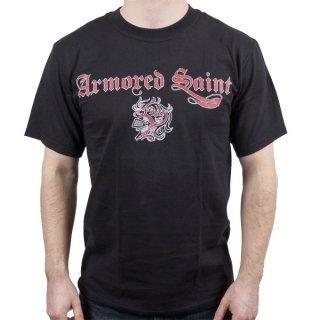ARMORED SAINT Logo, Tシャツ