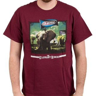 CLUTCH The Elephant Riders, Tシャツ