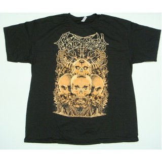 CRYPTOPSY Four Skulls, Tシャツ