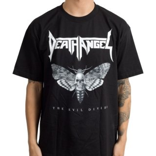 DEATH ANGEL Evil Divide Moth, Tシャツ