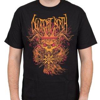 DECREPIT BIRTH Skull King, Tシャツ