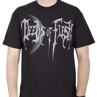DEEDS OF FLESH Portals Moon, Tシャツ