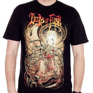 DEEDS OF FLESH Virvum Juggernaut, Tシャツ