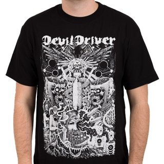 DEVILDRIVER Delusional Haze, Tシャツ