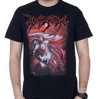 DISGORGE She Lay Gutted, Tシャツ