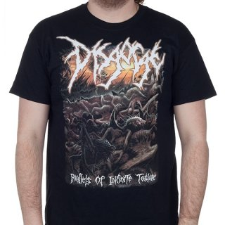 DISGORGE Parallels Of Infinite Torture, Tシャツ