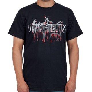 DYING FETUS Logo, Tシャツ