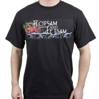 FLOTSAM AND JETSAM Logo, Tシャツ
