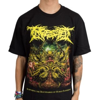 INGESTED Surpassing The Boundaries Of Human Suffering, Tシャツ