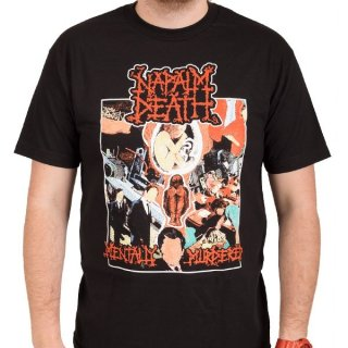 NAPALM DEATH Mentally Murdered, Tシャツ