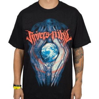 RIVERS OF NIHIL Globe, Tシャツ