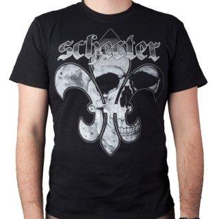 SCHECTER GUITARS Fleur De Skull, Tシャツ